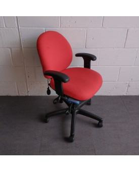Red 2 Lever Operator Chair