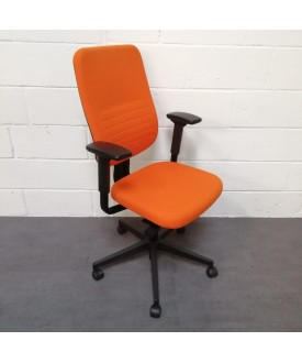 Orange task chair