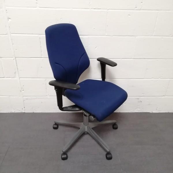 Dark Blue Giroflex Chair Fully loaded