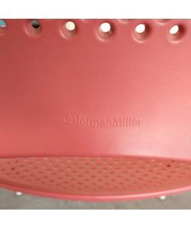 Herman Miller Red Stacking Chair