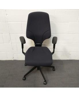 Orangebox Navy G64 Chair- Fully Adjustable