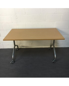 Oak folding table- 1400 x 800
