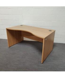 Oak wave desk-1400 x 800