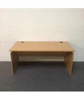 Beech 1600 x 800 straight desk