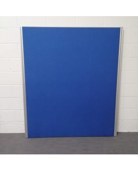 Floor standing blue divider