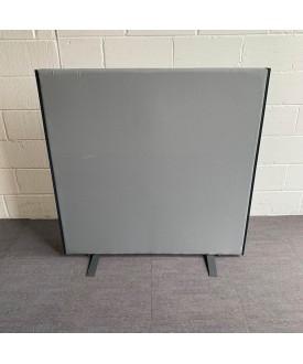 Floor standing grey divider- 1220 x 1220