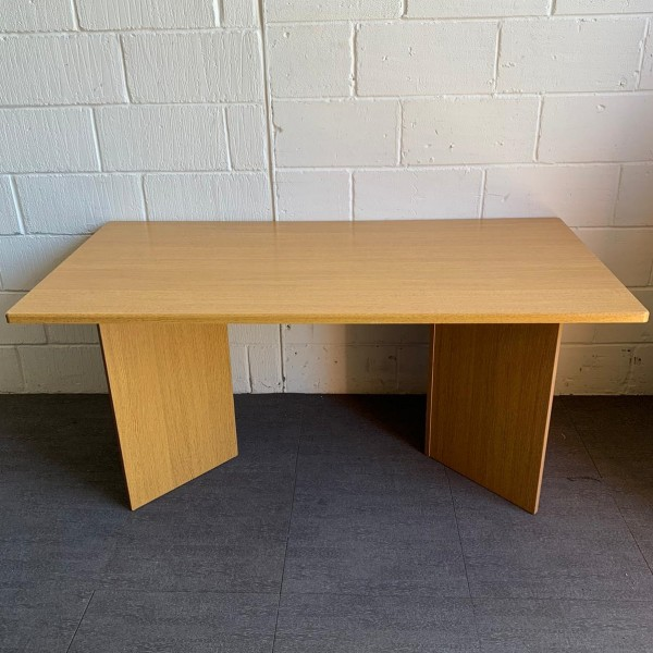 Oak meeting table- 1550 x 780