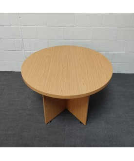 Oak meeting table- 1000 x 740