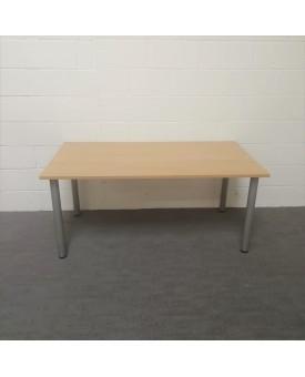 Light oak meeting table- 1600 x 800