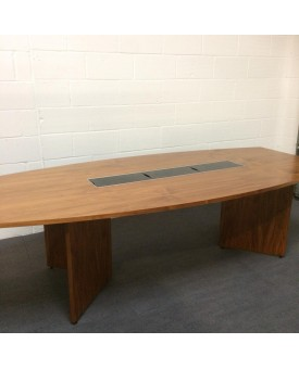 Sven Christiansen barrel boardroom table- 2500 x 1200