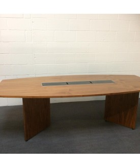 Sven Christiansen barrel boardroom table- 2500 x 1200