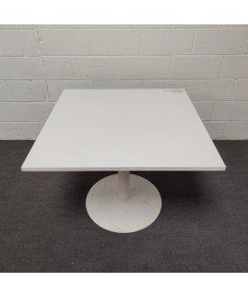 White square meeting table- 1000 x 1000 x 730