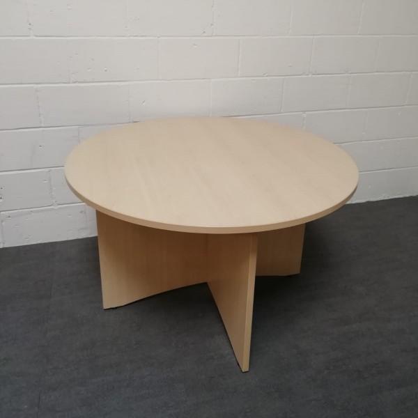 Circular 1200 maple meeting table