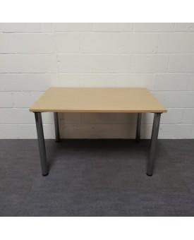 Oak meeting table- 1200 x 800