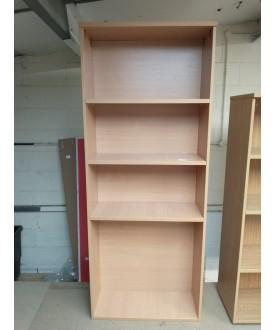 Beech bookcase- 800 x 320 x 2000