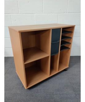 Beech mobile storage unit