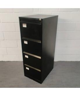 Black filing cabinet- 4 drawer