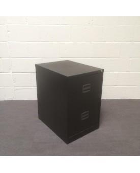 Black fling cabinet- 2 drawer