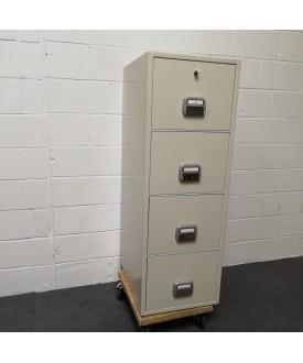 4 Drawer Fire Filing Cabinet - De Raat SF680-4DK