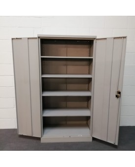 Metal storage cabinet- wear and tear