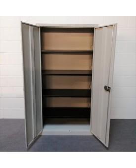 Bisley metal storage cabinet