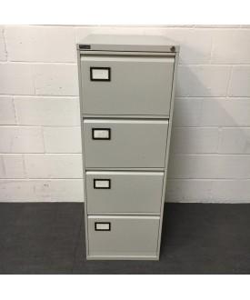 Triumph grey filing cabinet- 4 drawer