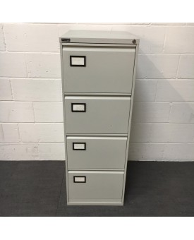 Triumph grey filing cabinet- 4 drawer