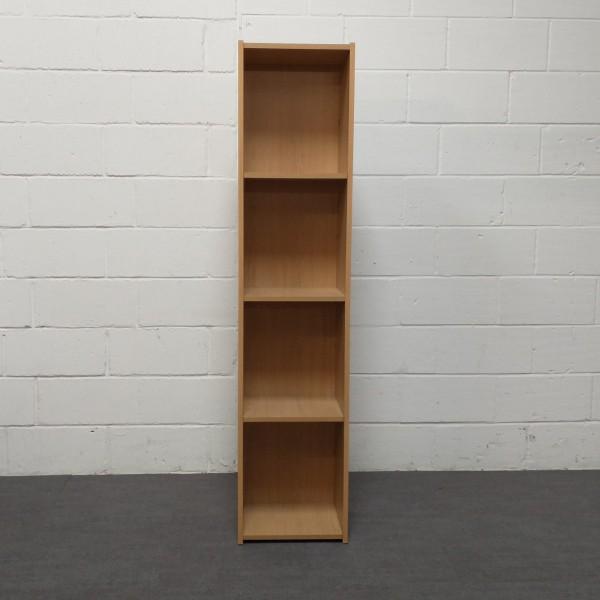 Oak tall bookcase