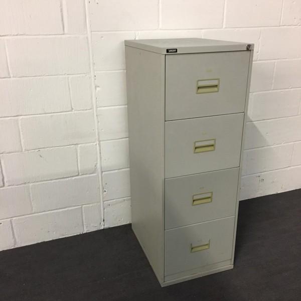 Triumph silver filing cabinet