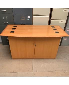 Solid wood beech cupboard- 1400 X 650 X 740