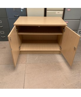 Beech one shelf Cupboard