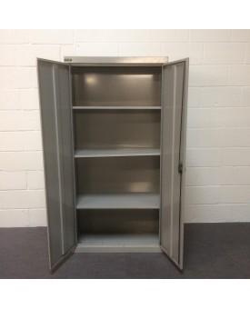 Metal storage cupboard- 600d x 480w x 1380h
