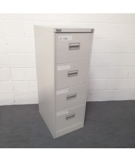 Royale silver filing cabinet