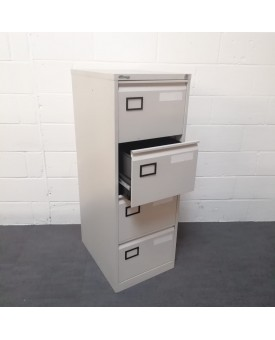 Connections silver filing cabinet