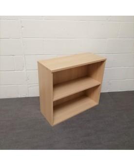 Maple one shelf bookcase