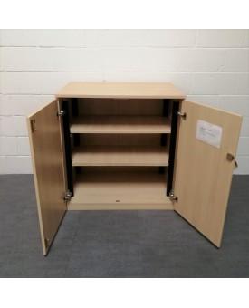 Maple two shelf cupboard