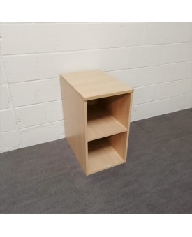 Maple one shelf storage unit