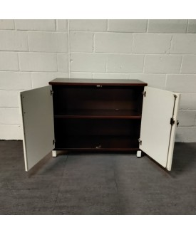 Brown and White Cupboard