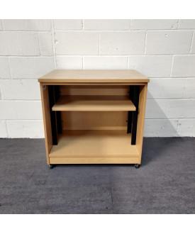 Oak Mobile Bookshelf