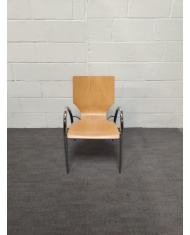 Wooden Static Chair