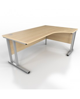 Corner desk - 1800mm x 1200mm - Maple (Right Hand)