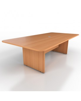 Large meeting table - 2400mm x 1200mm - Beech