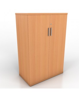 2 door office cupboard - 1200mm - Beech