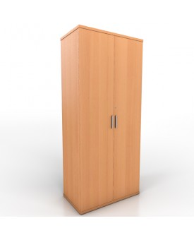 2 door office cupboard - 1800mm - Beech