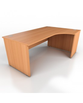 Corner desk - 1800mm x 1200mm – Beech (Right Hand)