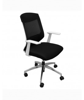 Black mesh back executive task chair