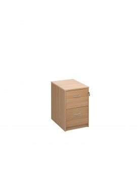 2 drawer economy filing cabinet - Beech