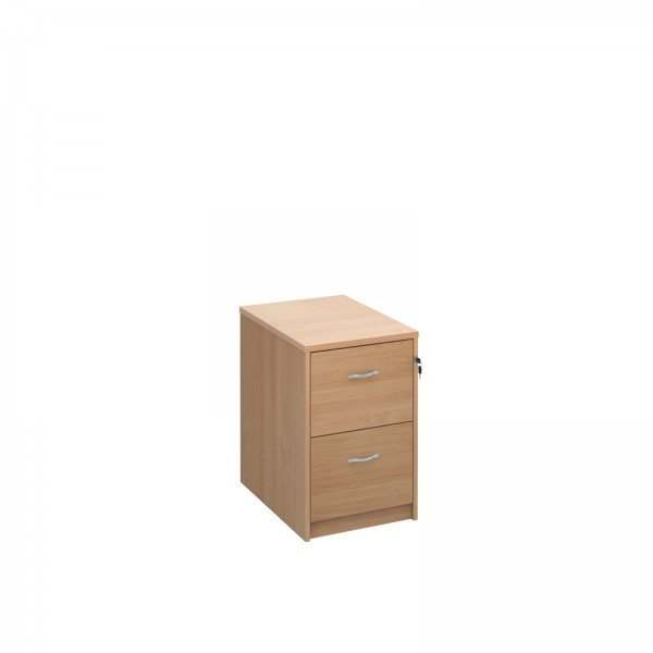 2 drawer economy filing cabinet - Beech