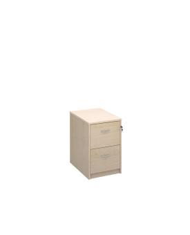 2 drawer economy filing cabinet - Maple