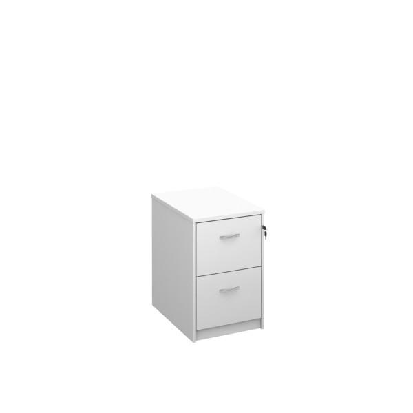 2 drawer economy filing cabinet - White